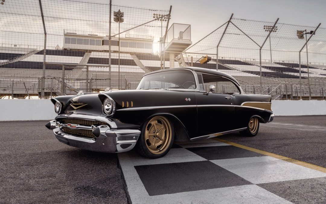 '57 Chevrolet Bel Air… Pro Touring plus fort qu'un Muscle Car !