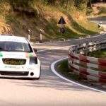 Hillclimb Monster : Citroen C2 shootée au GSX-R 1000