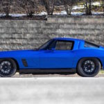 Corvette Stingray by Roadster Shop... Bleu comme l'enfer !