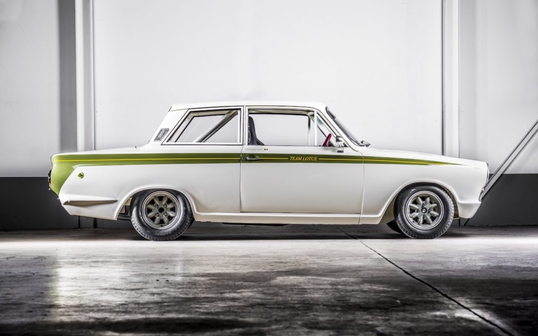 Ford Cortina Lotus Gr2… Tour de magie !
