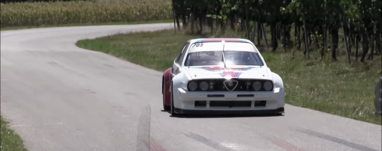 Hillclimb Monster : Alfa Sprint 1.6l... La bête se cache sous le capot ! 3