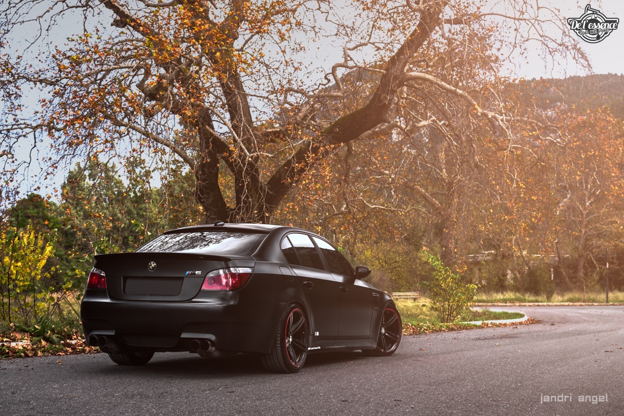 BMW M5 E60 - Si sa sainteté veut bien se donner la peine... 1