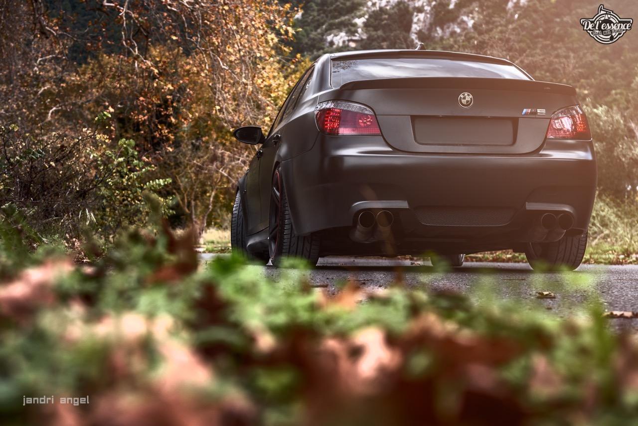 BMW M5 E60 - Si sa sainteté veut bien se donner la peine... 3