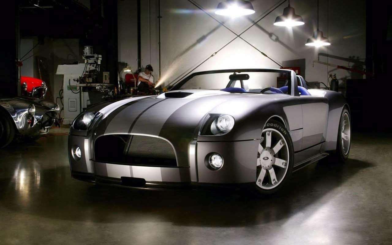 Ford Shelby Cobra Concept... Une nuit sans lendemain ! 32