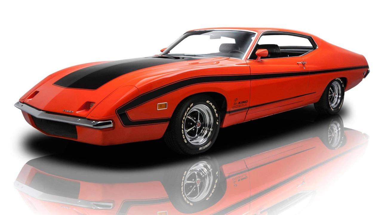 '70 Ford Torino King Cobra... qui ne piquera pas ! 2