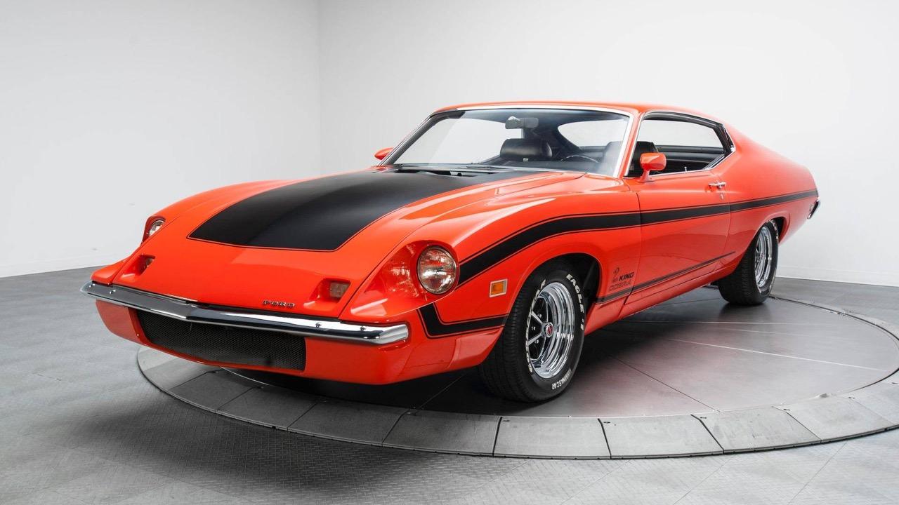 '70 Ford Torino King Cobra... qui ne piquera pas ! 6