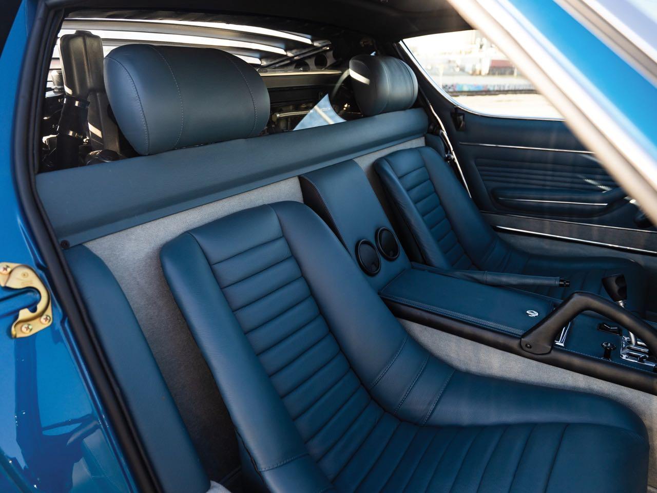 Lamborghini Miura P400 SV... Blue devil ! 8