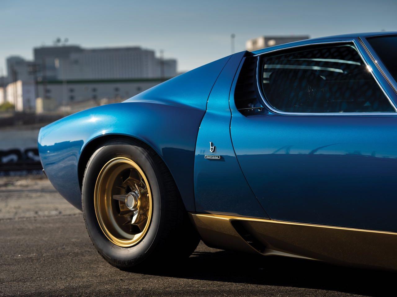 Lamborghini Miura P400 SV... Blue devil ! 3