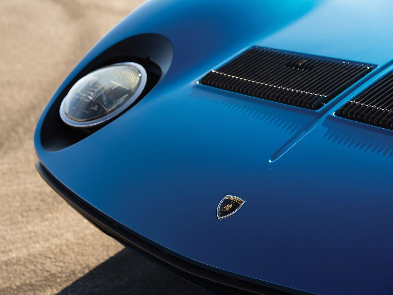 Lamborghini Miura P400 SV... Blue devil ! 1