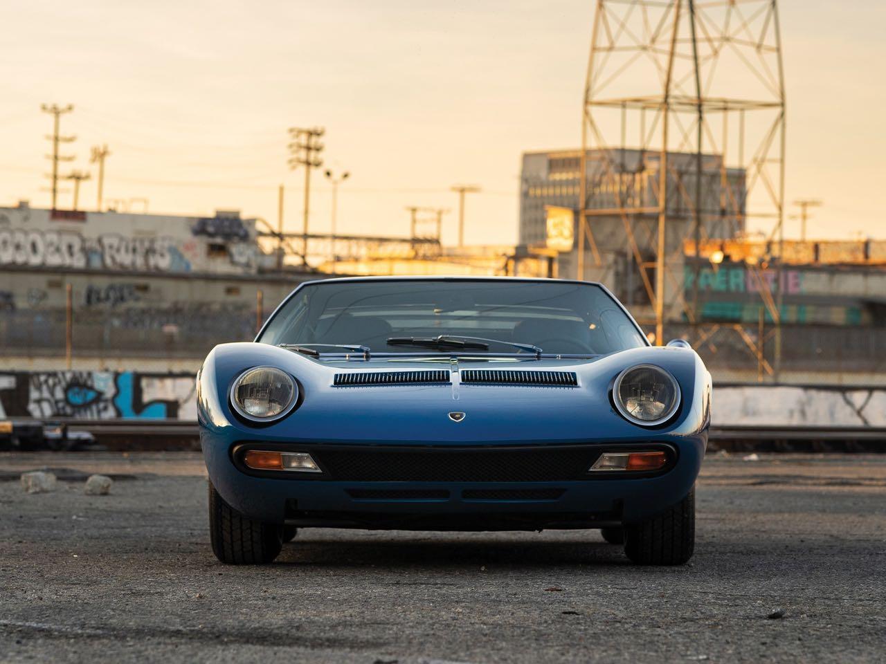 Lamborghini Miura P400 SV... Blue devil ! 19