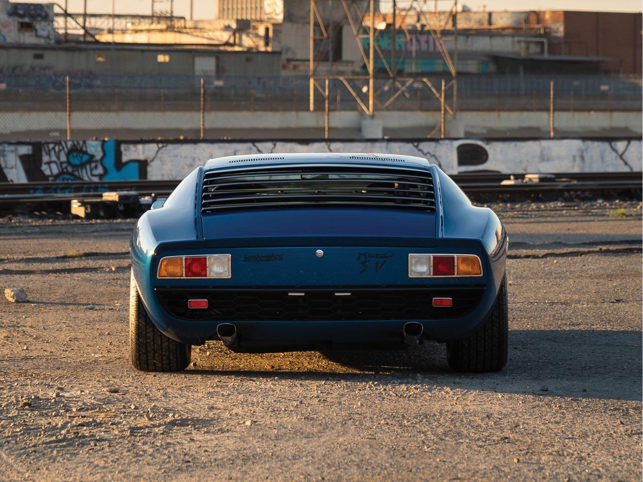 Lamborghini Miura P400 SV... Blue devil ! 20