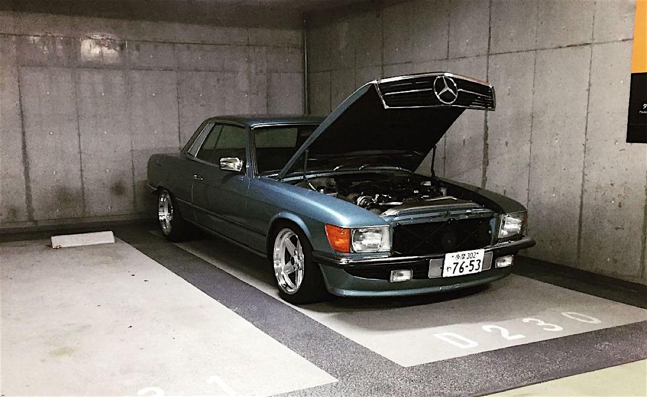 '77 Mercedes 450SLC... Une R107 en 2JZ ! 34