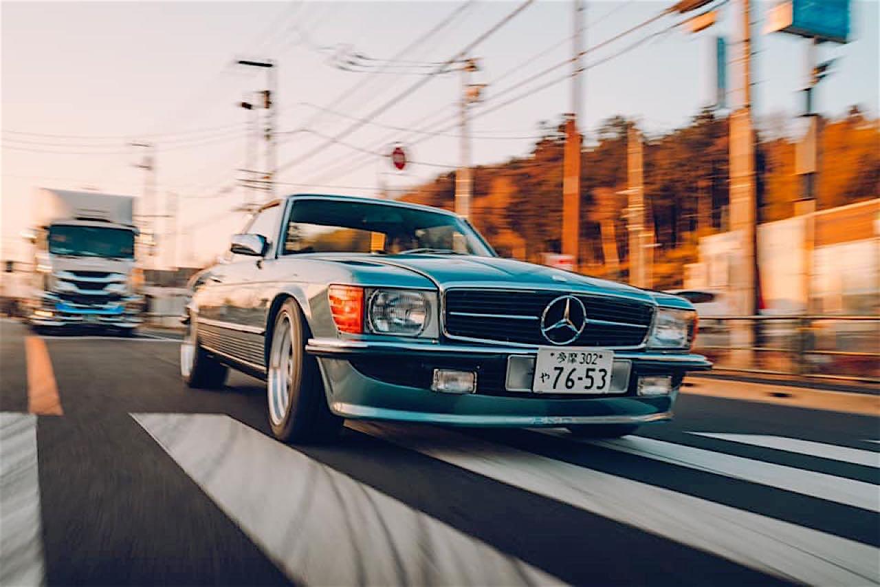 '77 Mercedes 450SLC... Une R107 en 2JZ ! 8