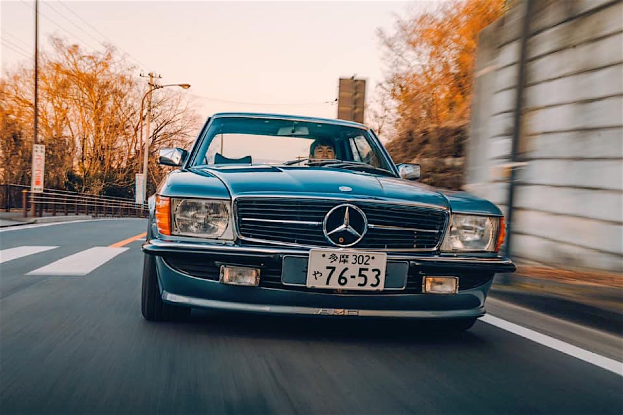 '77 Mercedes 450SLC... Une R107 en 2JZ ! 2