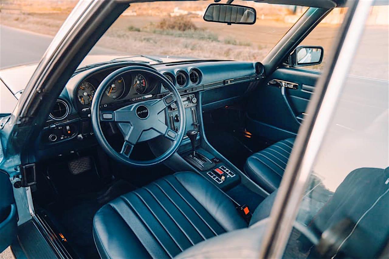 '77 Mercedes 450SLC... Une R107 en 2JZ ! 5