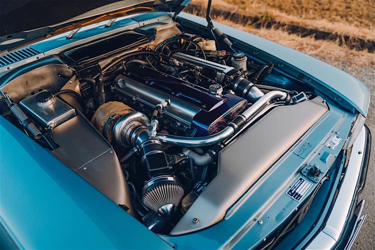 '77 Mercedes 450SLC... Une R107 en 2JZ ! 6