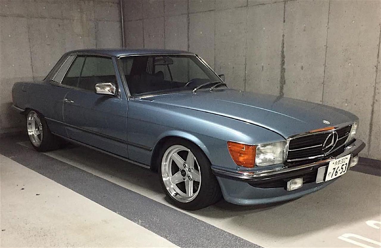 '77 Mercedes 450SLC... Une R107 en 2JZ ! 4