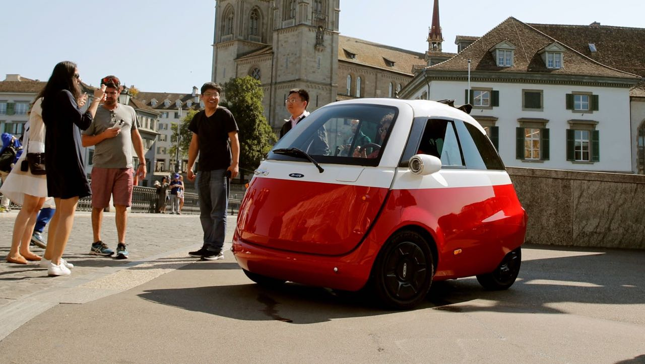 Microlino... Le futur en BMW Isetta sous atomes ! 1