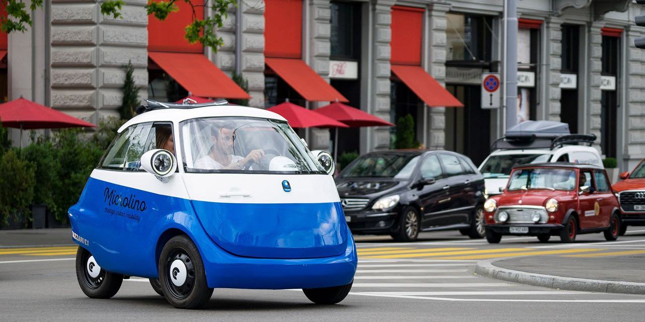 Microlino... Le futur en BMW Isetta sous atomes ! 5