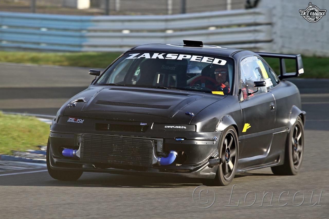 L'Opel Calibra Turbo de Gilles - En piste... 1