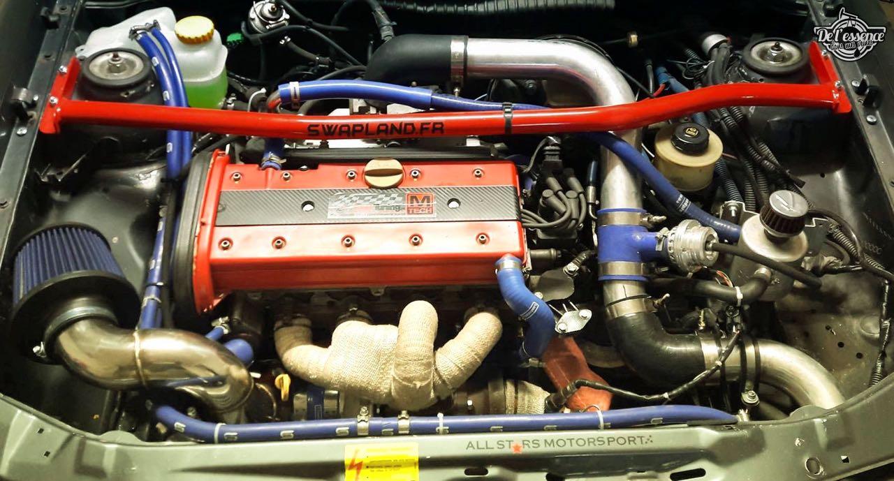 L'Opel Calibra Turbo de Gilles - En piste... 4