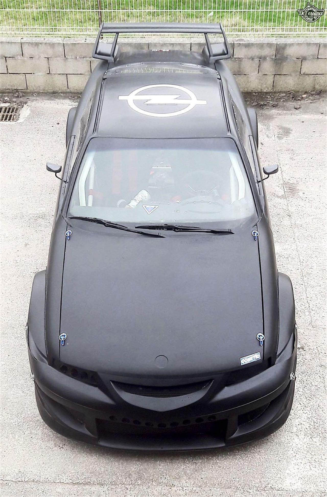 L'Opel Calibra Turbo de Gilles - En piste... 2