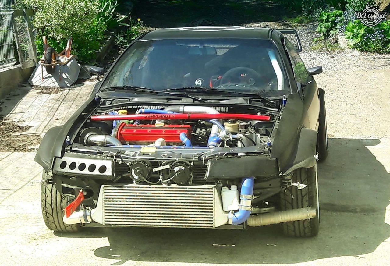 L'Opel Calibra Turbo de Gilles - En piste... 5