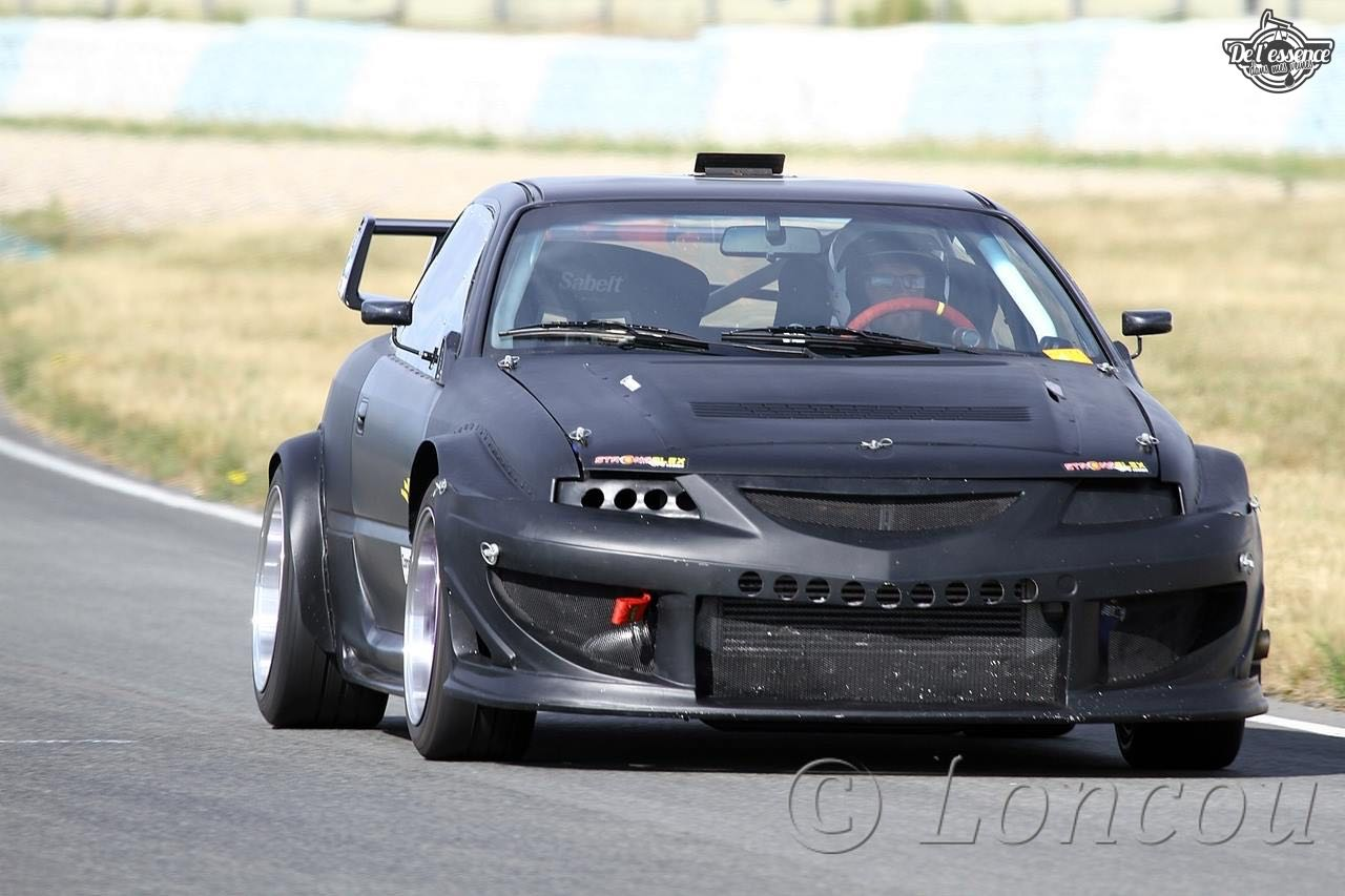L'Opel Calibra Turbo de Gilles - En piste... 15