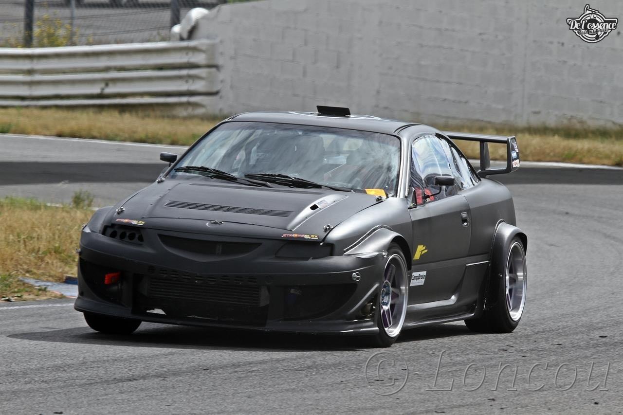 L'Opel Calibra Turbo de Gilles - En piste... 9