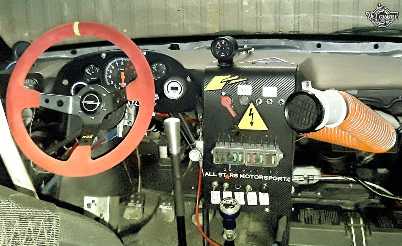L'Opel Calibra Turbo de Gilles - En piste... 11