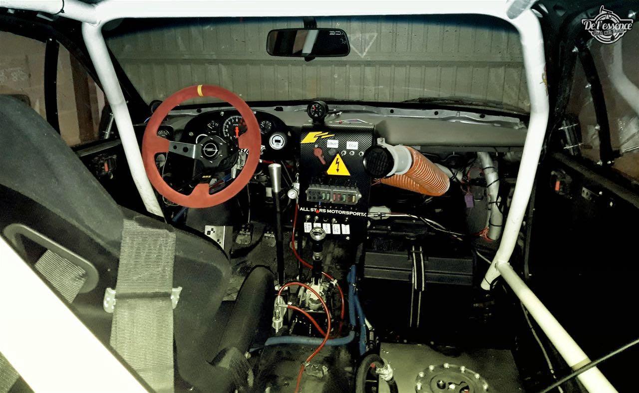 L'Opel Calibra Turbo de Gilles - En piste... 10