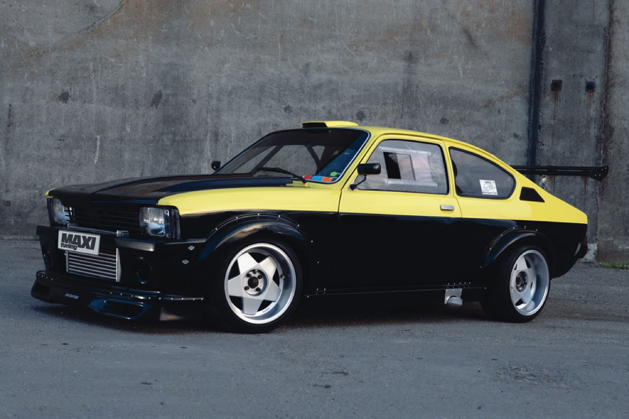 Opel Kadett GTE Turbo ! Move your ass... 1