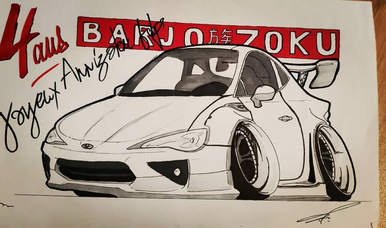 #Petrolhead : Frédéric Rodriguez le talent sauce Barjozoku 13