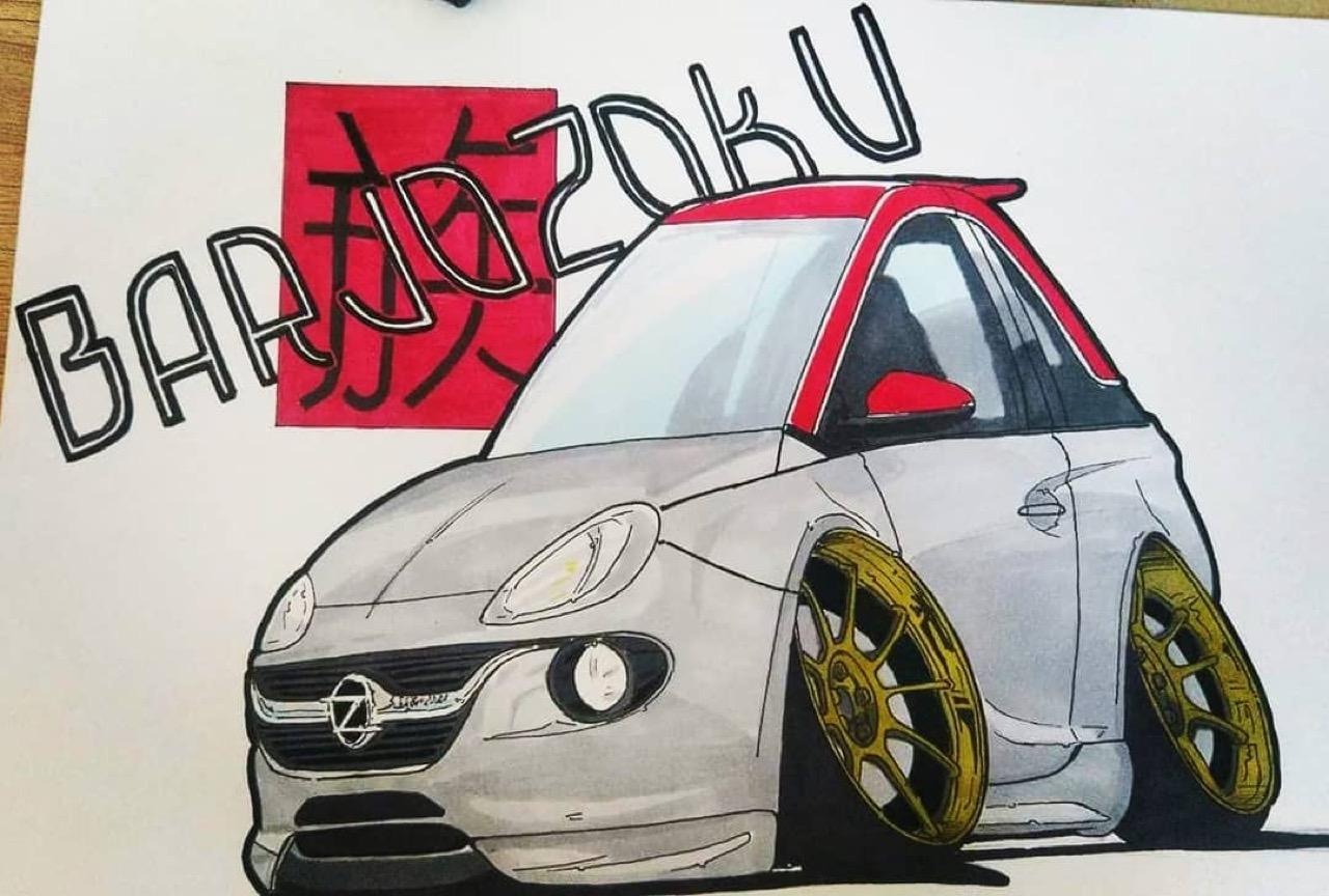 #Petrolhead : Frédéric Rodriguez le talent sauce Barjozoku 11