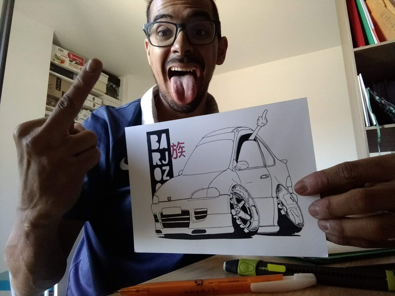 #Petrolhead : Frédéric Rodriguez le talent sauce Barjozoku 17