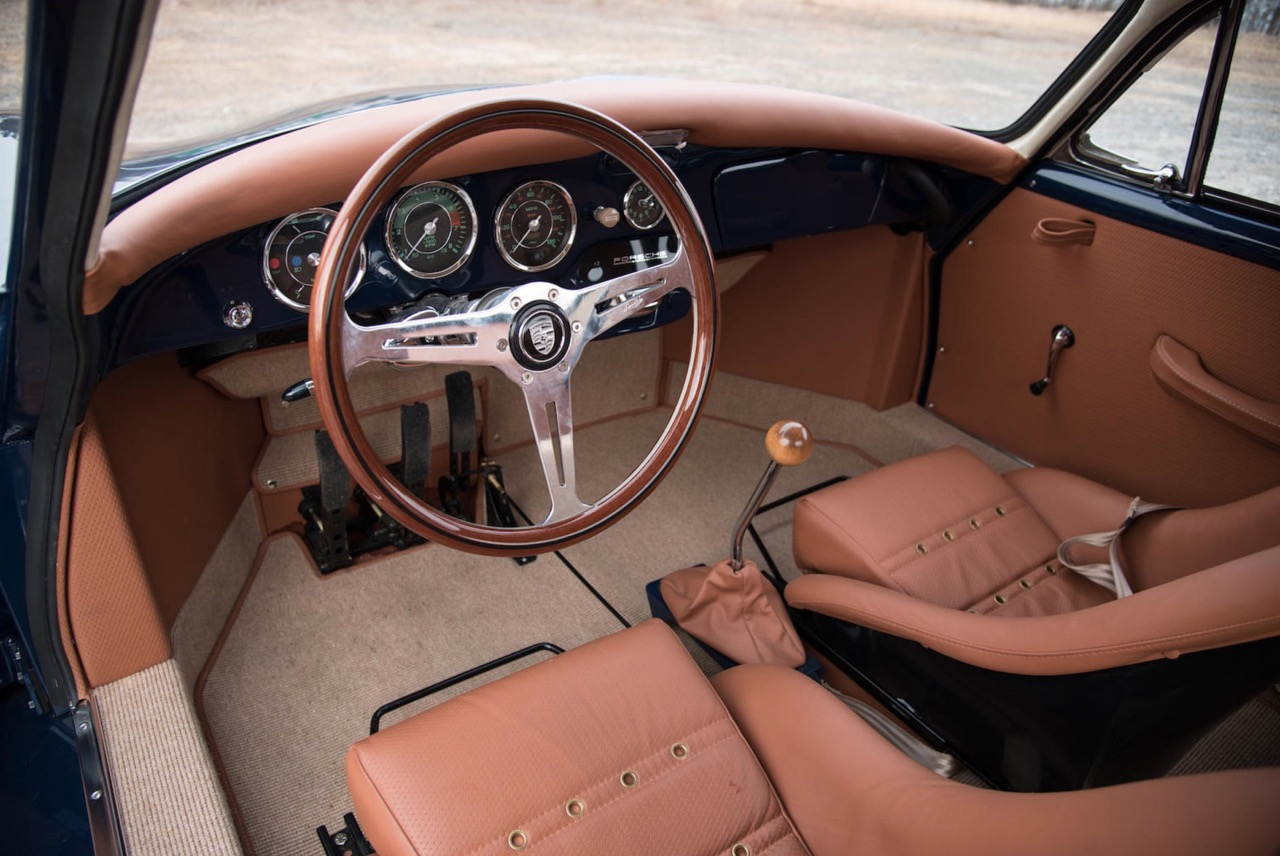 '64 Porsche 356 Outlaw... Celle là, elle envoie du lourd ! 15