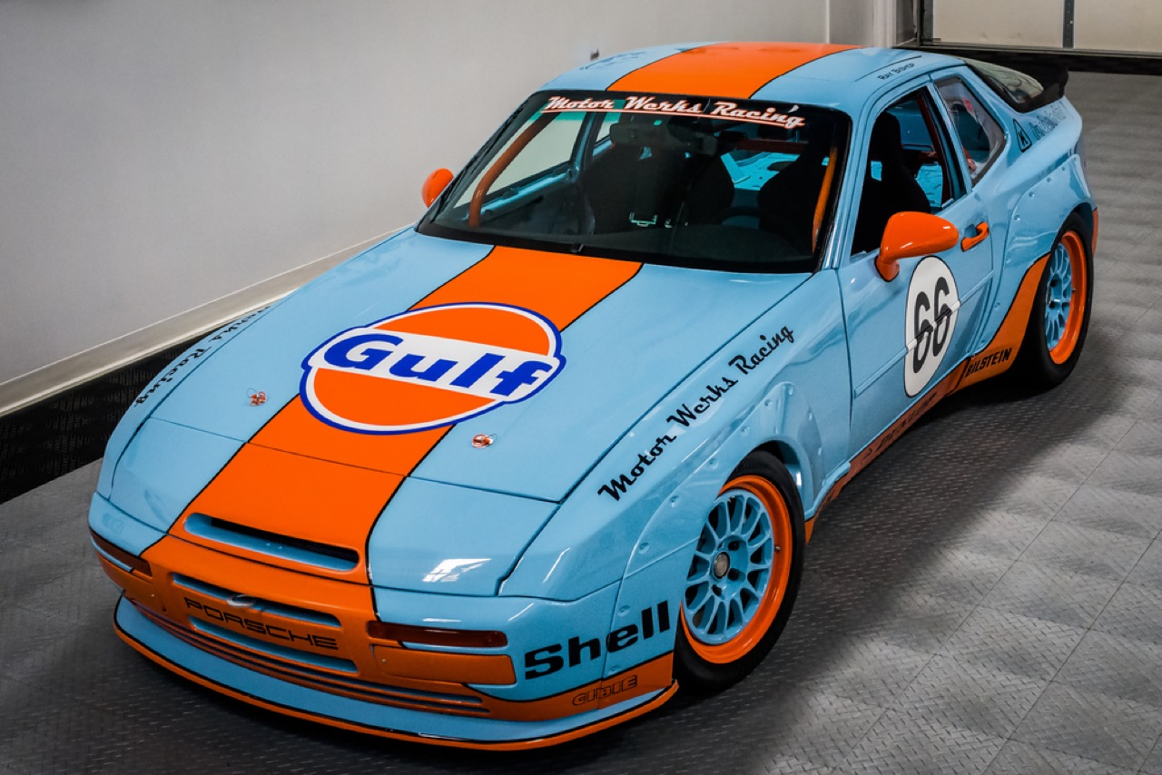 Motor Werks Racing : Porsche 924 Heritage Tribute Edition... 58
