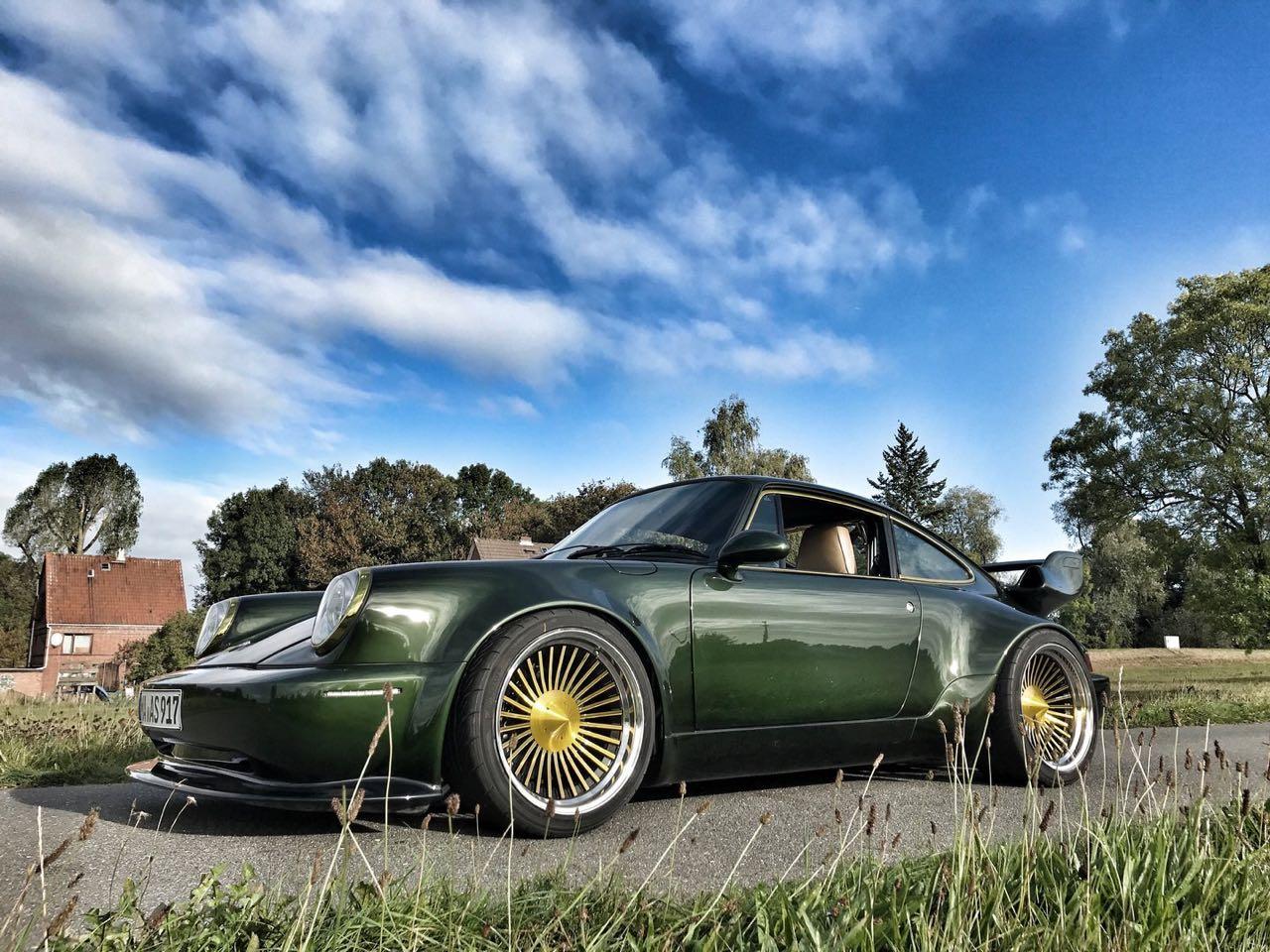 '93 Porsche 965 Turbo Wagenbauanstalt... custom ! 34