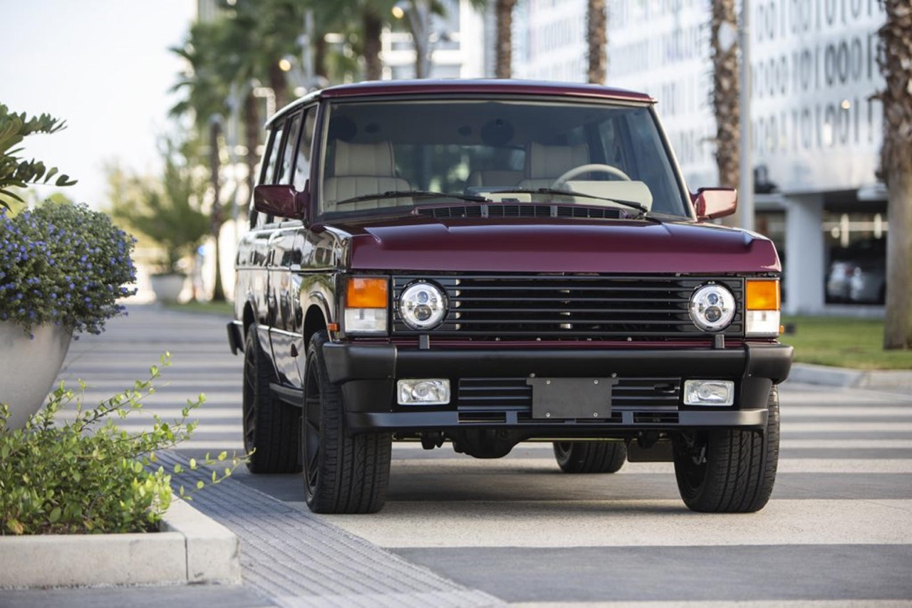 "Range Rover Classic : ""Project Red Range"" - Le restomod 6.2 ! 2"