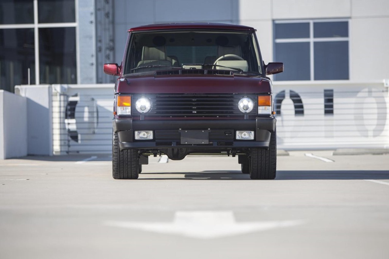 "Range Rover Classic : ""Project Red Range"" - Le restomod 6.2 ! 3"