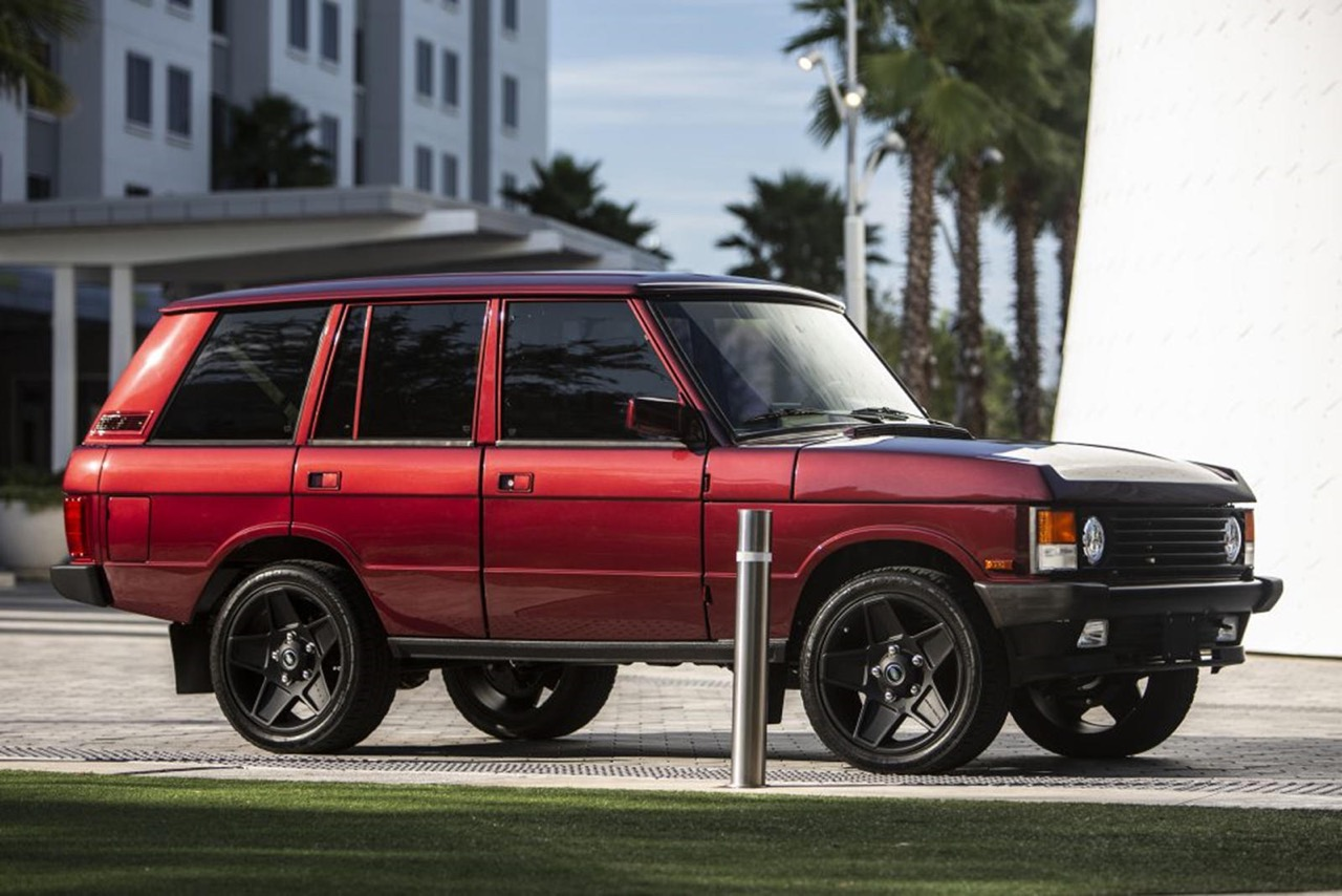 "Range Rover Classic : ""Project Red Range"" - Le restomod 6.2 ! 8"