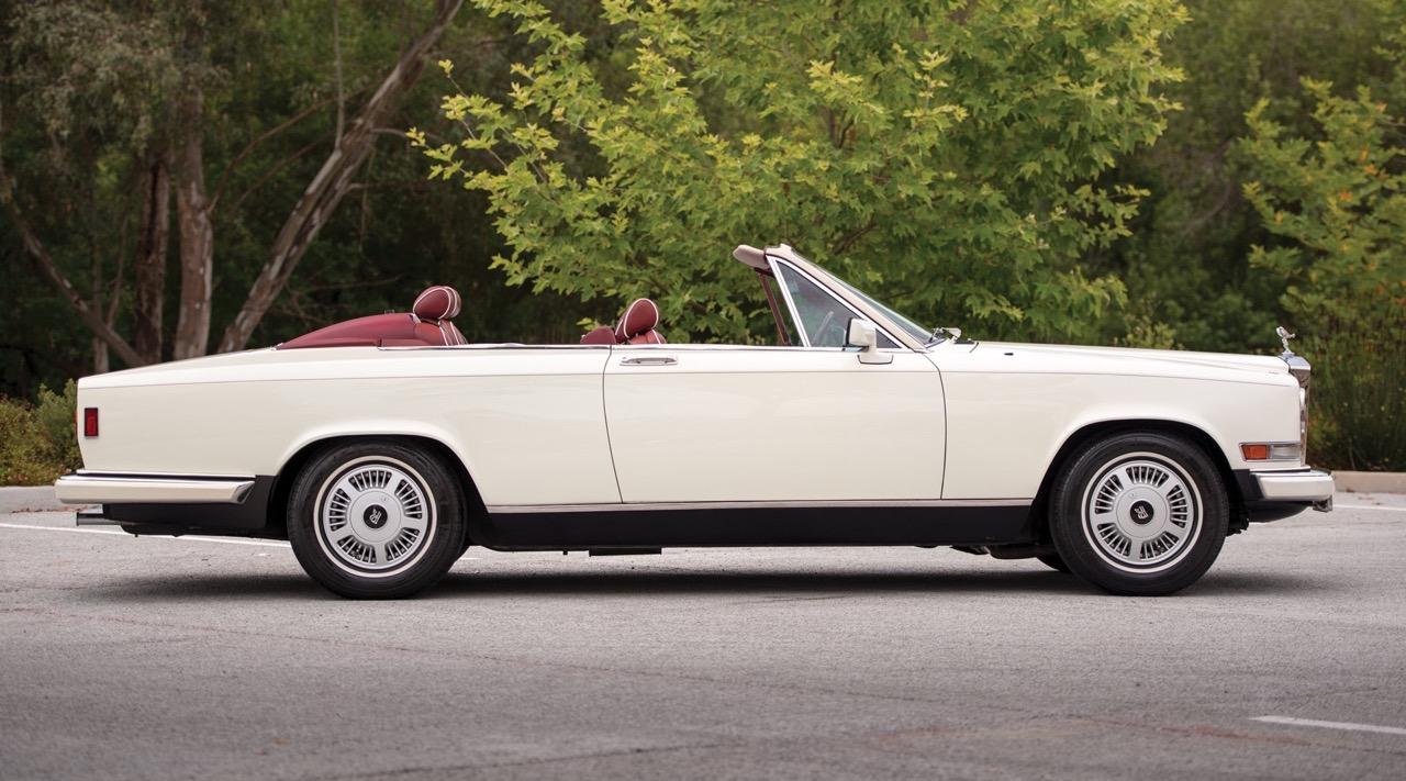 Rolls Royce Camargue CC... Quand la reine du kitch prend l'air ! 42