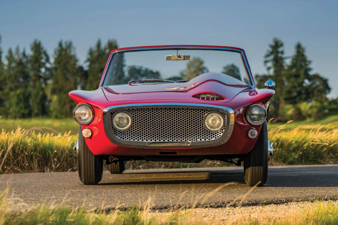 '61 Plymouth Asimmetrica Roadster Ghia - Vous avez dit bizarre ? 12