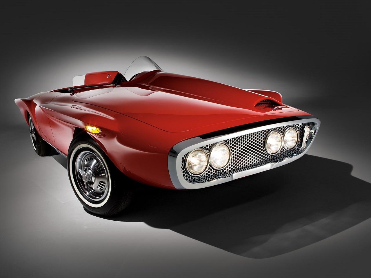 '61 Plymouth Asimmetrica Roadster Ghia - Vous avez dit bizarre ? 4