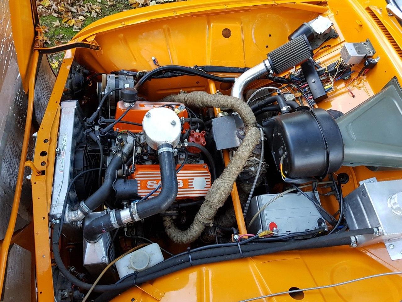 Bagged Saab 95 V4 - Tout est Restomodable ! 26