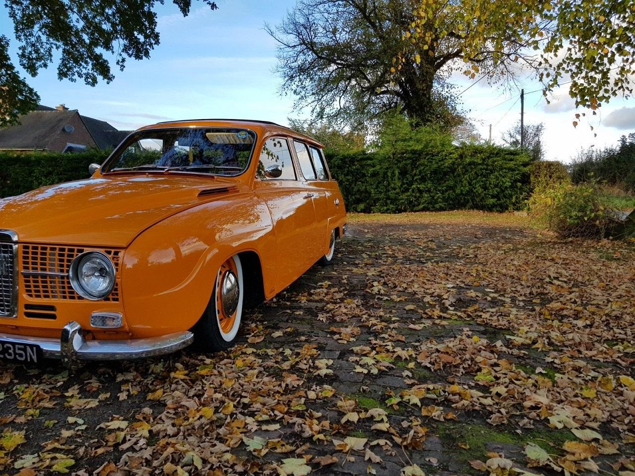 Bagged Saab 95 V4 - Tout est Restomodable ! 22