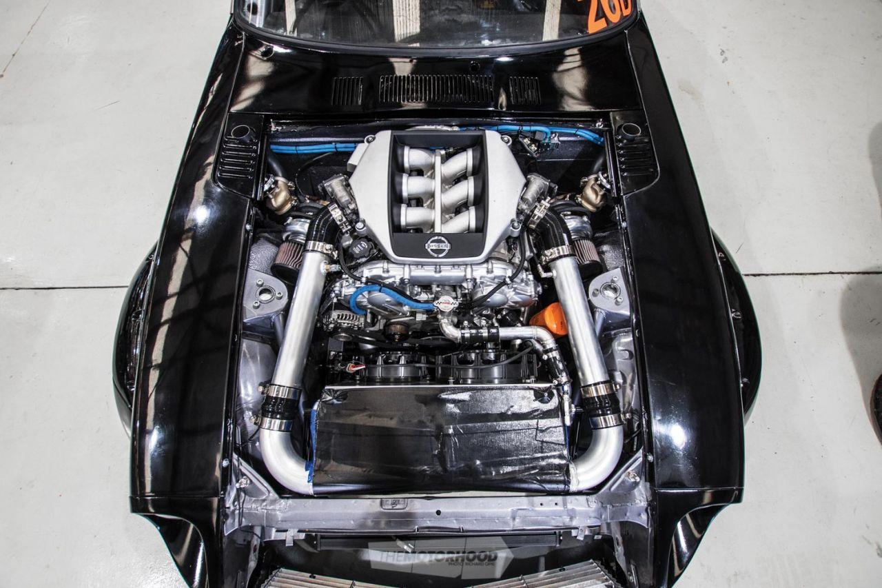 Une 240Z avec un VR38 - La cerise sur l'McDo' ! 17