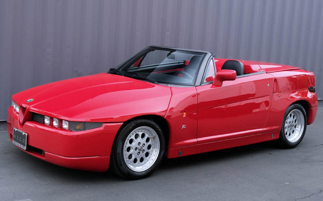 Alfa Romeo RZ Roadster – Vas y Francky !