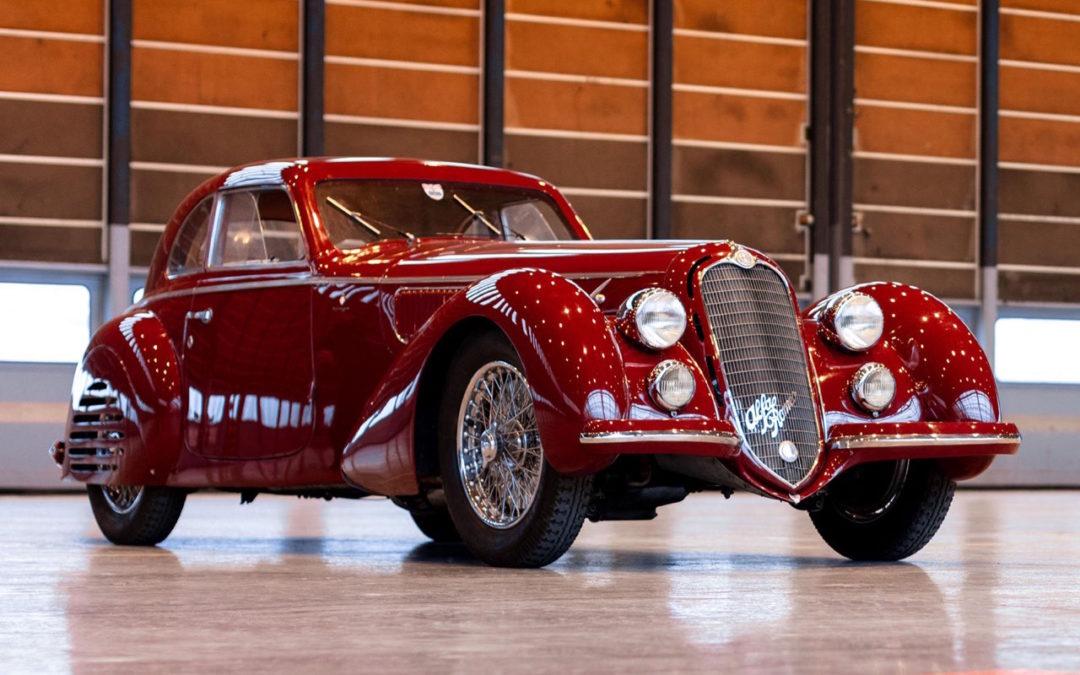 Alfa Romeo 8C 2900B Touring Berlinetta – Leggendario…
