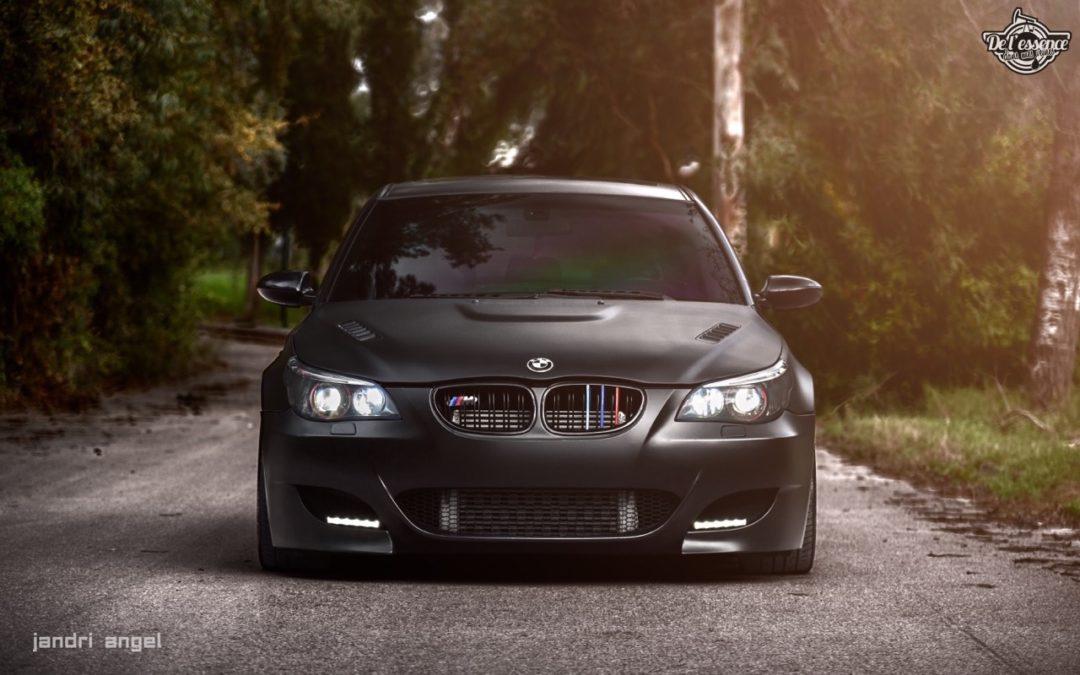 BMW M5 E60 – Si sa sainteté veut bien se donner la peine…